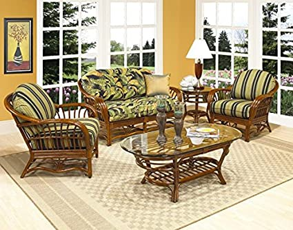 Amazon.com: Boca Rattan Amarillo Seating Arm Chair in Urban ...