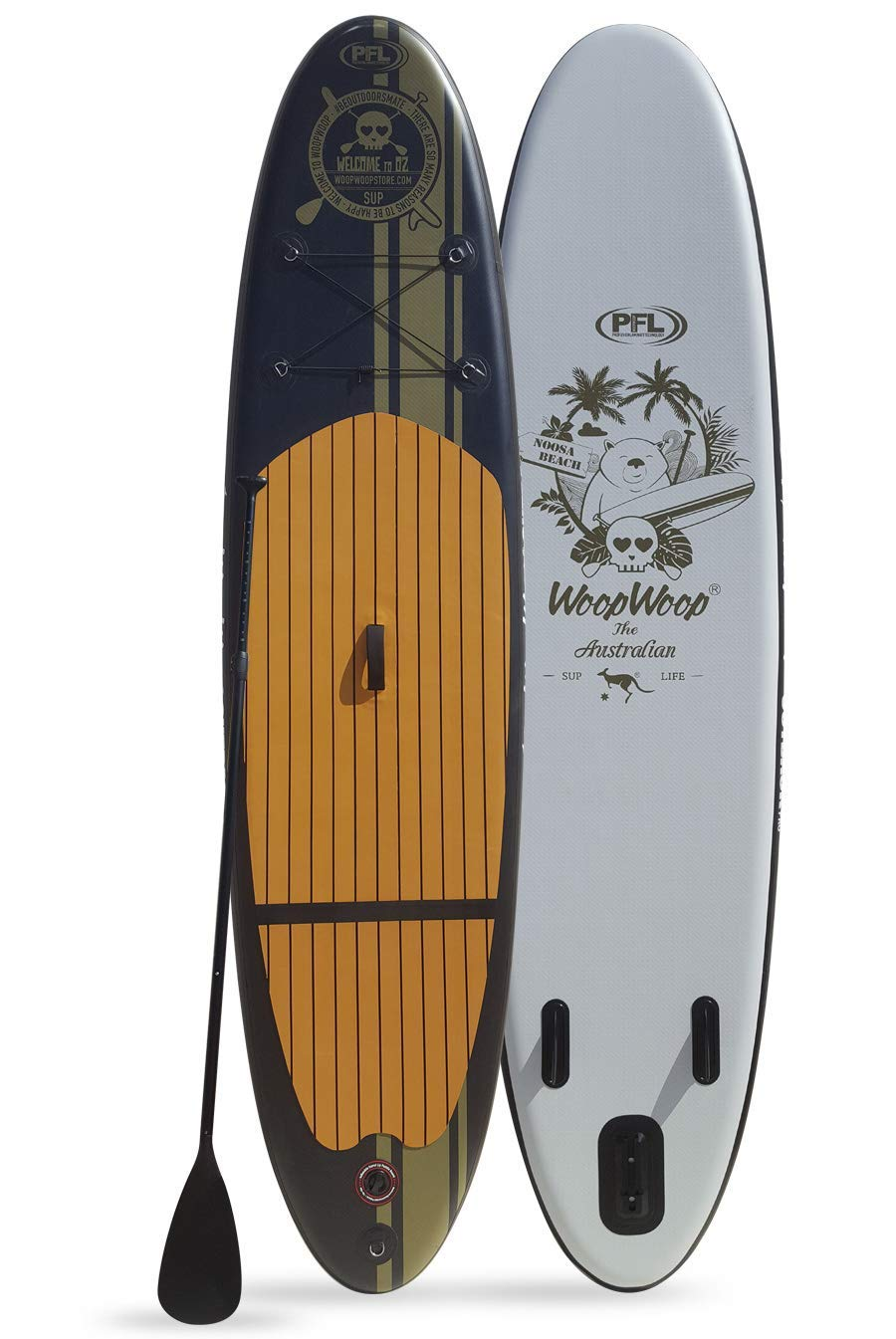 Woop Woop Tabla de Paddle Surf Hinchable Noosa Pro SUPRO98: Amazon ...