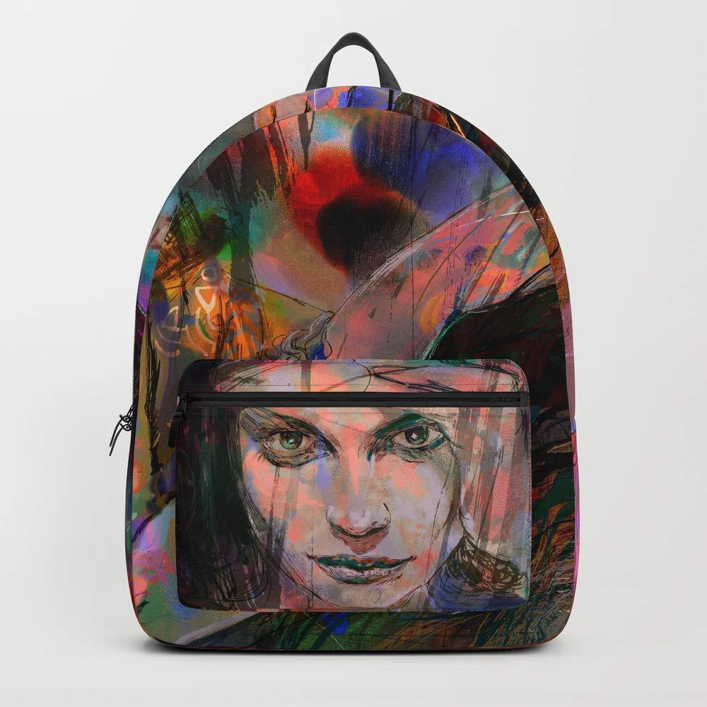 Society6 Backpack, The Firestarter by Hubert_fine_Art, Standard Size by Society6 (Image #1)