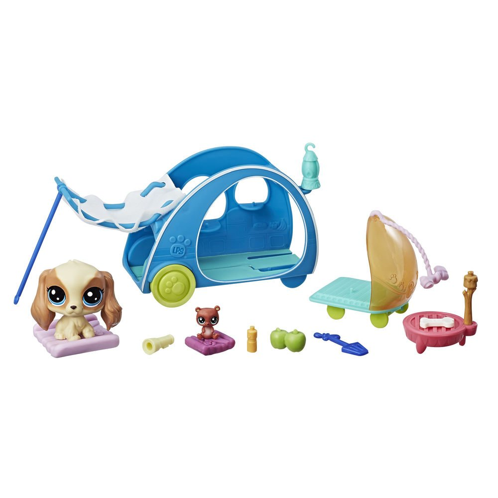 Amazon.es: Littlest Pet Shop Mini Playset Hasbro E0393EU4: Juguetes y juegos