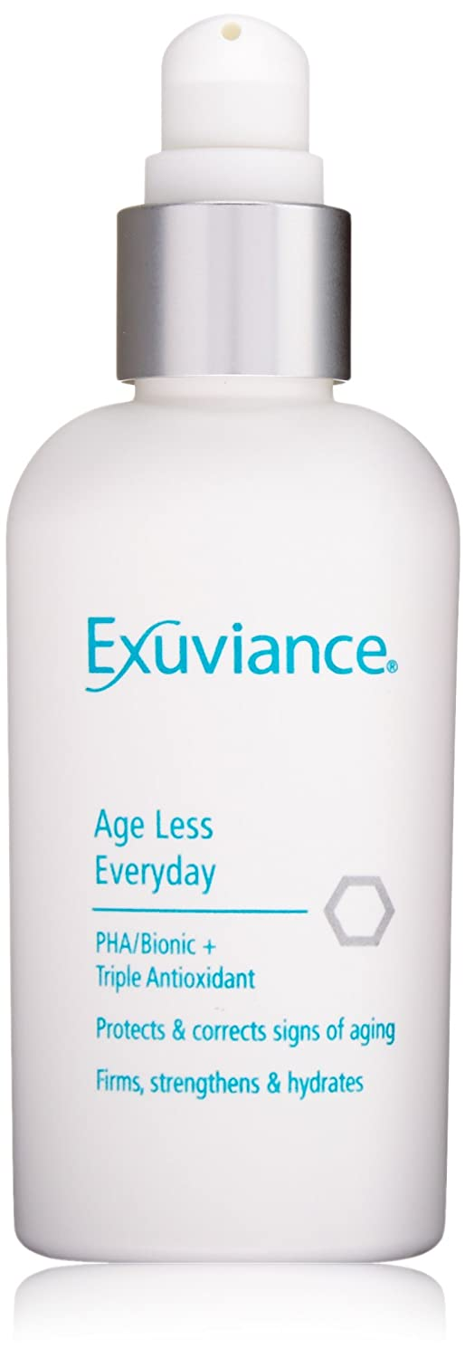 exuviance age less everyday