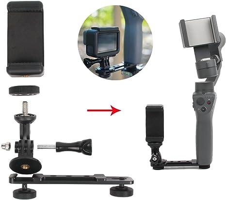 flycoo Soporte Camera de Acción/Smartphone para dji OSMO Mobile 2 ...
