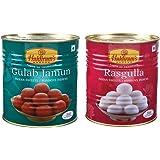 Halduram's Gulab Jamun & Rasgulla ( Combo Pack )