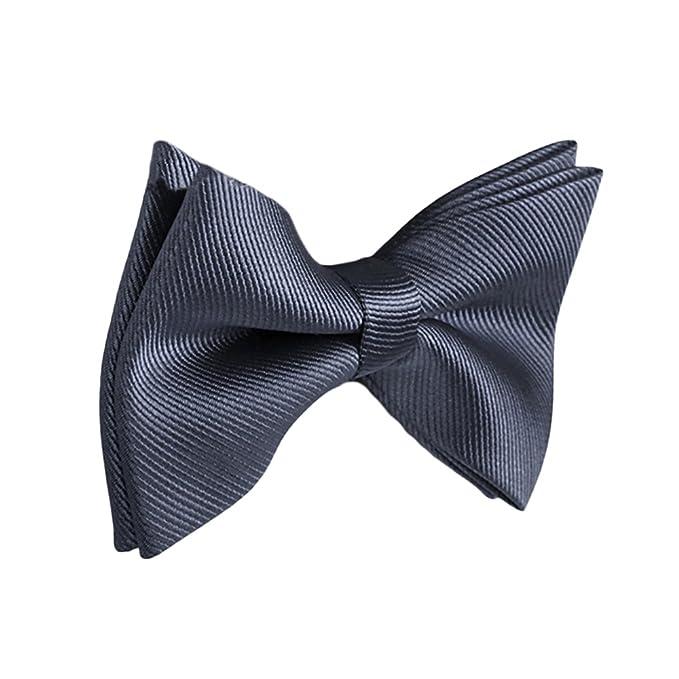 Rera Herren Mode Fliege Schleife Einfarbig für Smoking Business Casual Hemd  in verschiedenen Farben d69b17f953