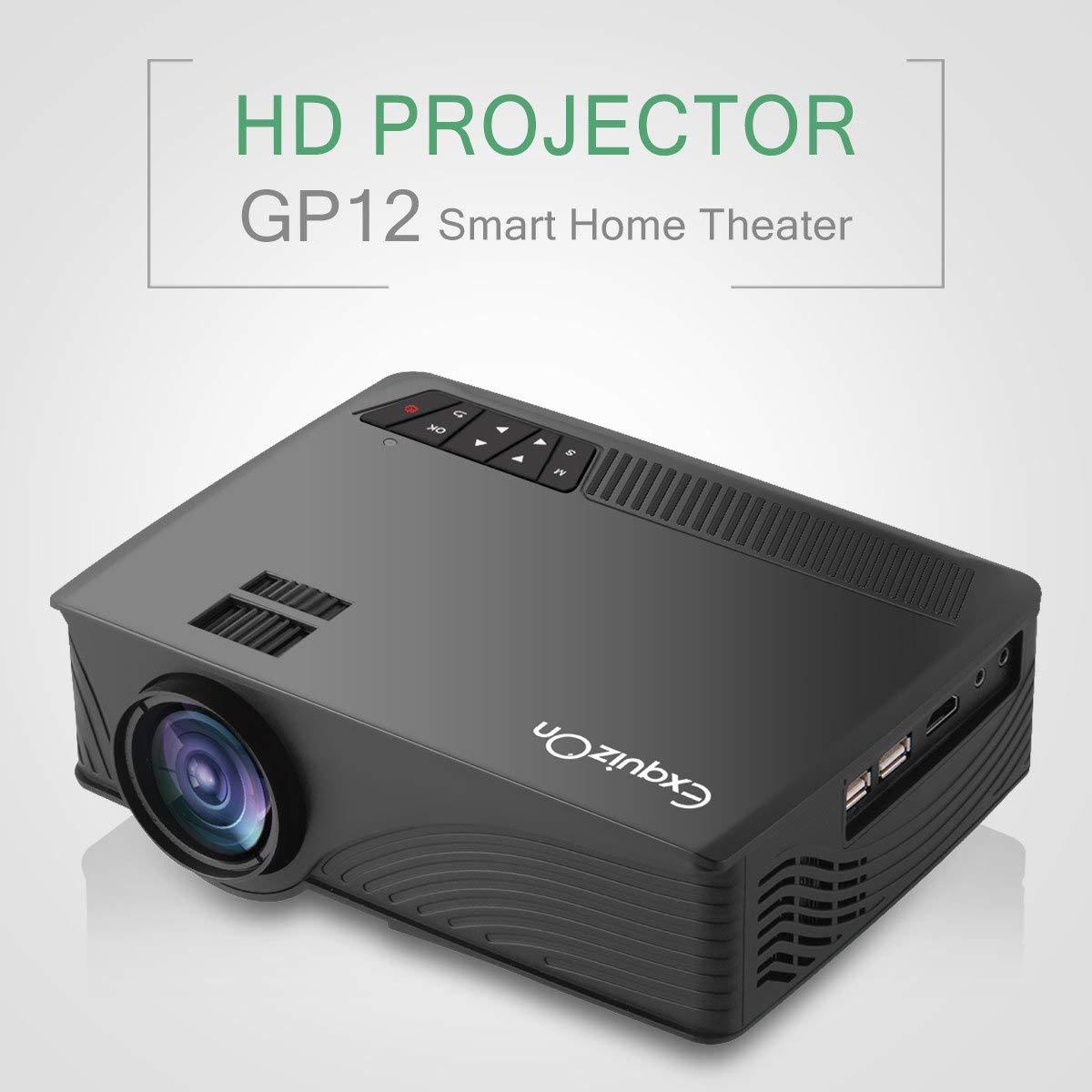 Exquizon GP12 - LED Proyector Cine en Casa Home Cinema (800x480P ...