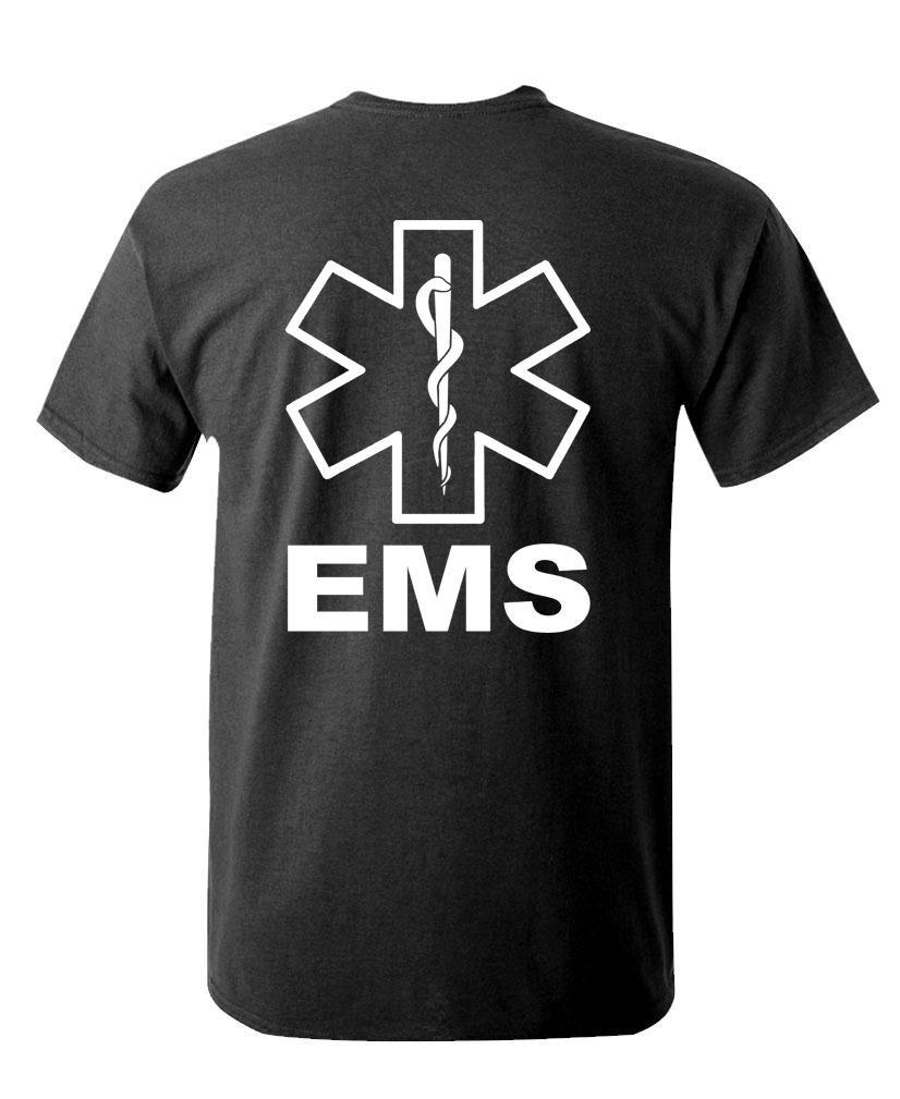 Ems Hi Vis Reflective Emergency Duty S T Shirt 2480