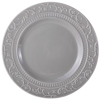Buy Italian Countryside Accents Scroll Grey Salad Plate online at Mikasa.com