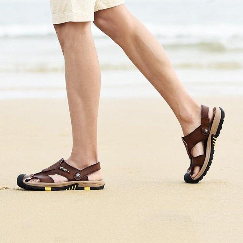 DALL Sandali Sandali Sandali sportivi Ly-869 Comodo E Pratico Scarpe Da Uomo Sandali Piatti Pantofole Scarpe Da Spiaggia Stagione Estiva Tempo Libero All'aria Apertaa 1515d2
