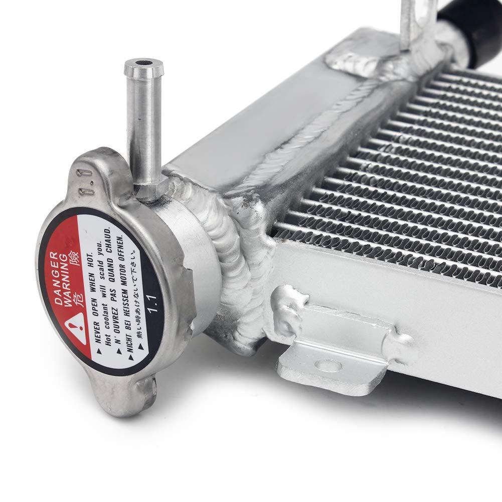 TARAZON Moto Aluminium Refroidisseur deau radiateur pour Kawasaki Z650 2017 2018 //Z650 ABS 2017 Aluminum Core Tank Water Cooling