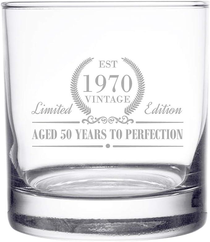 witzig gekippt TISPY Gin COPA Ballon-Glas CKB Ltd Gin- und Tonik-Gl/äser 2 St/ück einzigartige Geschenkbox lustig