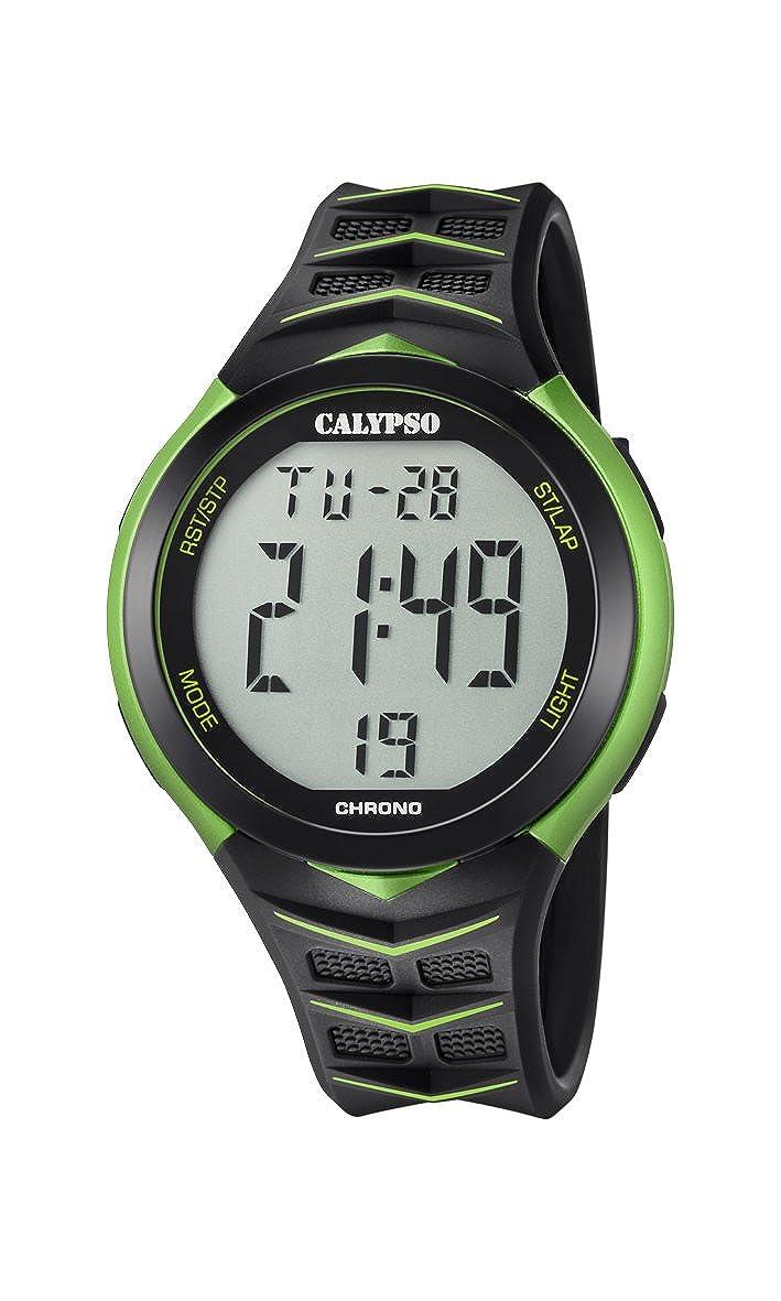 Calypso Reloj Digital para Hombre de Cuarzo con Correa en Plástico K5730/4