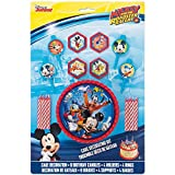 Best Mickey    Holders - Unique Mickey Mouse Cake Decoration Kit, 17Pc Review
