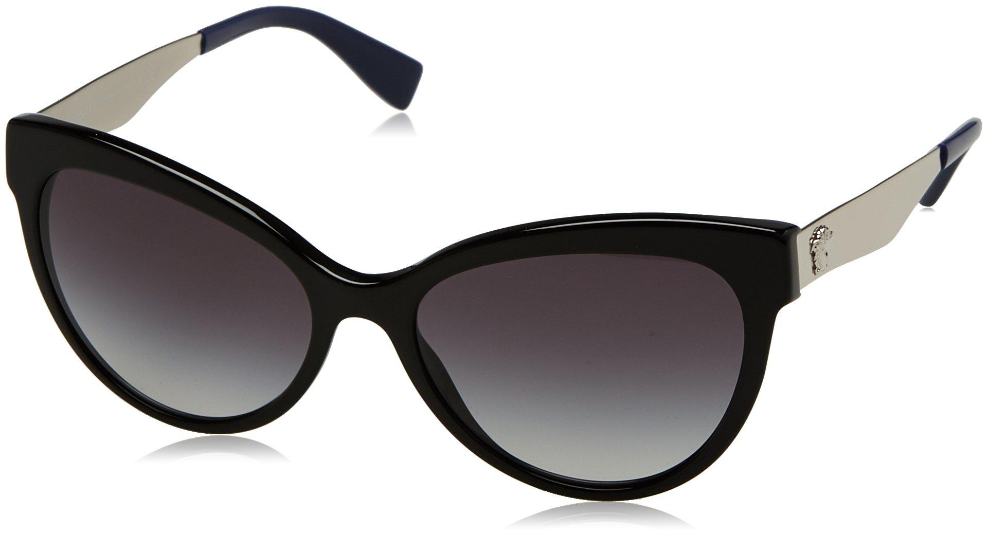 2cc574ace2 Authentic Versace Sunglasses VE4338-5247 8G 57mm Black-Blue   Grey ...