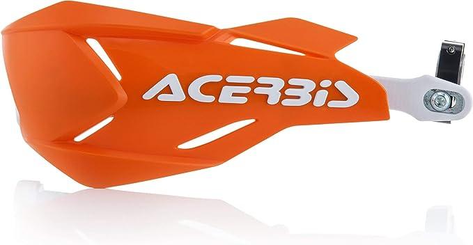 Acerbis Handschutz X Factory Orange Weiß Auto