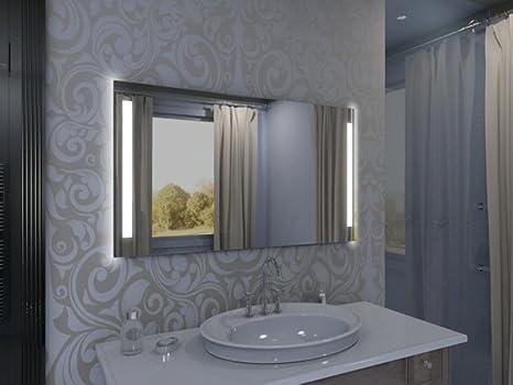 Specchio con illuminazione rich luna m l v design specchio per