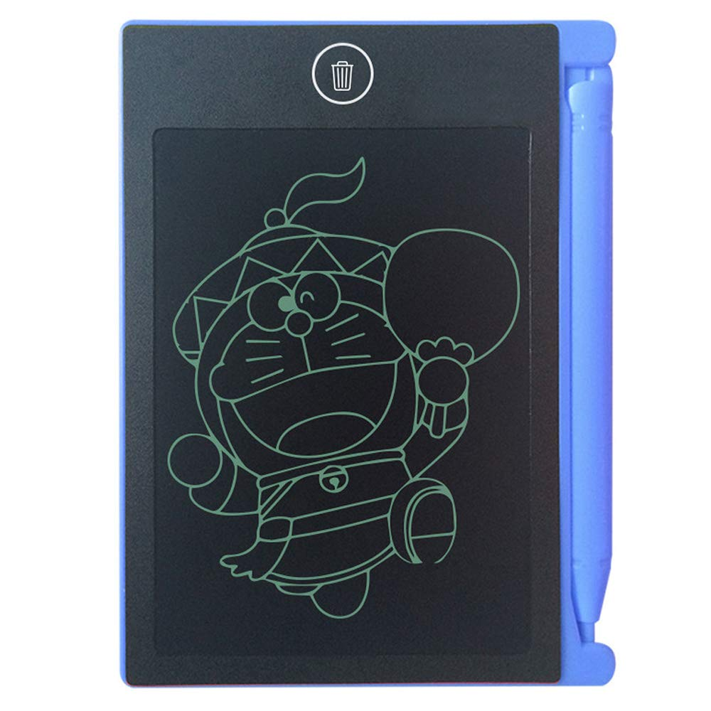 ABCmall LCD Writing Tablet Electronic Writing Drawing Doodle Board Erasable,4.4-Inch Handwriting Paper Drawing Tablet,for Kids Adults at Home School Office Pink