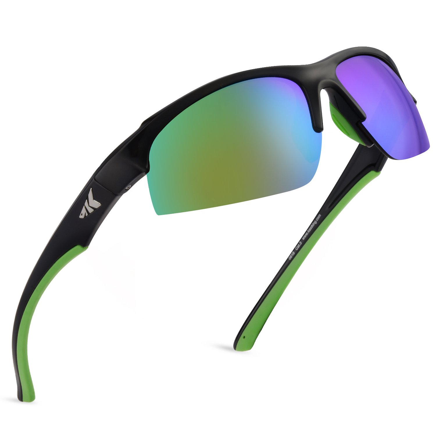 d1800296c3a4 Amazon.com: KastKing Cuivre Polarized Sport Sunglasses for Men and  Women,Ideal for Driving Fishing Cycling and Running,UV Protection: Sports &  Outdoors