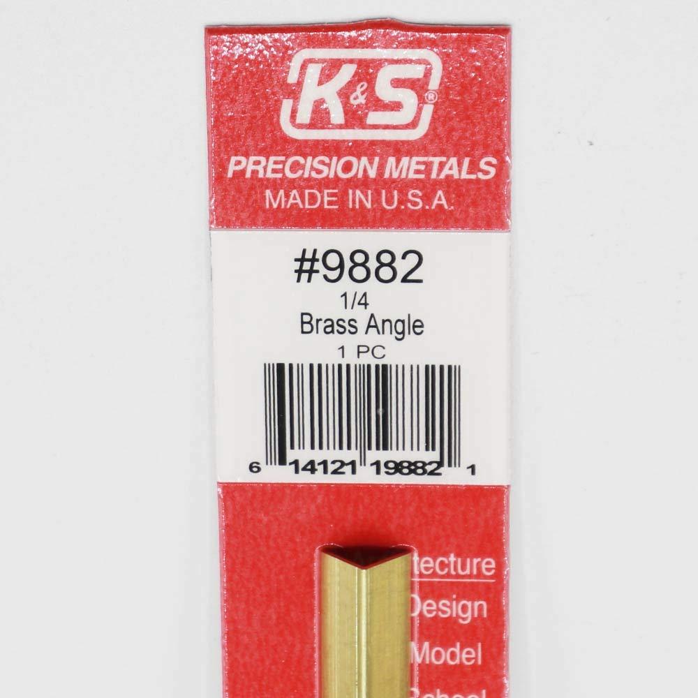 """300mm Brass Angle 1//4/"""" Pk1"""