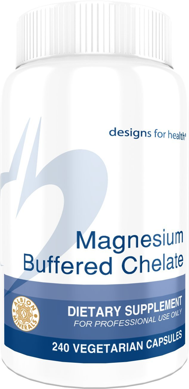Designs for Health - Magnesium Buffered Chelate - 300 mg, 240 Capsules