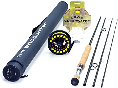 Orvis Encounter 6-Weight 9 0 Fly Rod Outfit 6wt, 9 0 , 4pc