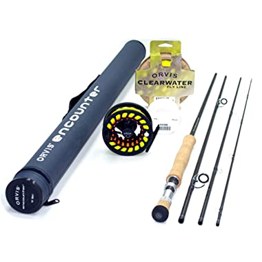 Orvis Encounter 6-Weight 9'0  Fly Rod Outfit (6wt, 9'0 , 4pc)