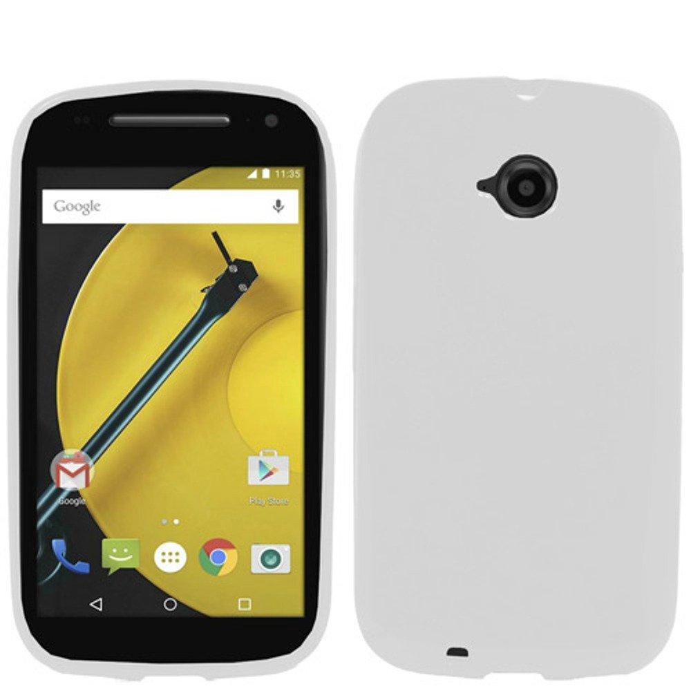 HJ POWER[TM] Motorola Moto E Lte Moto E(2015) Soft TPU SKIN Case Cover + [Free HJ POWER Stylus] EGSCT-Transparent Checker T-Clear by E-Window (Image #1)
