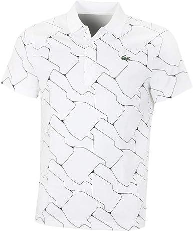 Lacoste 2019 - Polo de Golf con Cuello Acanalado para Hombre ...