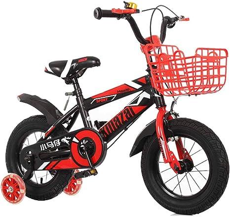 MYMGG Bicicleta Infantil con Ruedas De Entrenamiento 12(14,16,18 ...