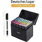 Yosoo Marker Stift Set Doppelspitze Textmarker in
