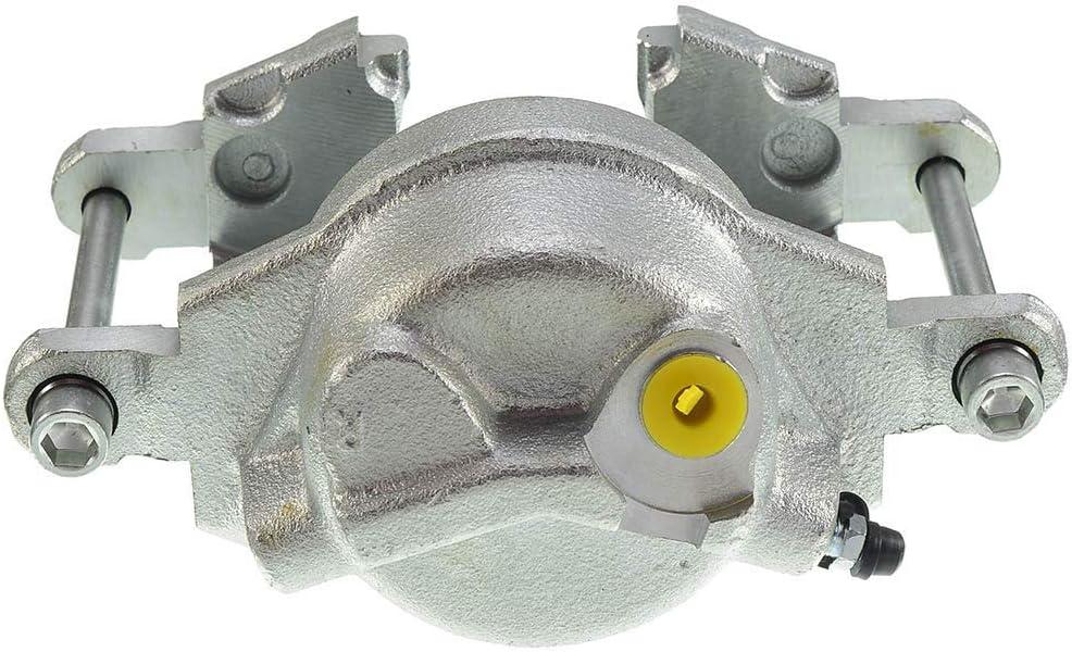 A-Premium Brake Caliper without Bracket for Chevrolet Blazer K10 K20 V10 V20 GMC Jimmy K1500 K2500 V1500 V2500 Jeep Cherokee J10 1979-1991 Front Driver Side