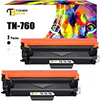 Toner Bank Compatible Toner Cartridge Replacement for Brother TN760 TN-760 TN730 TN-730 for Brother MFC-L2710DW HL…