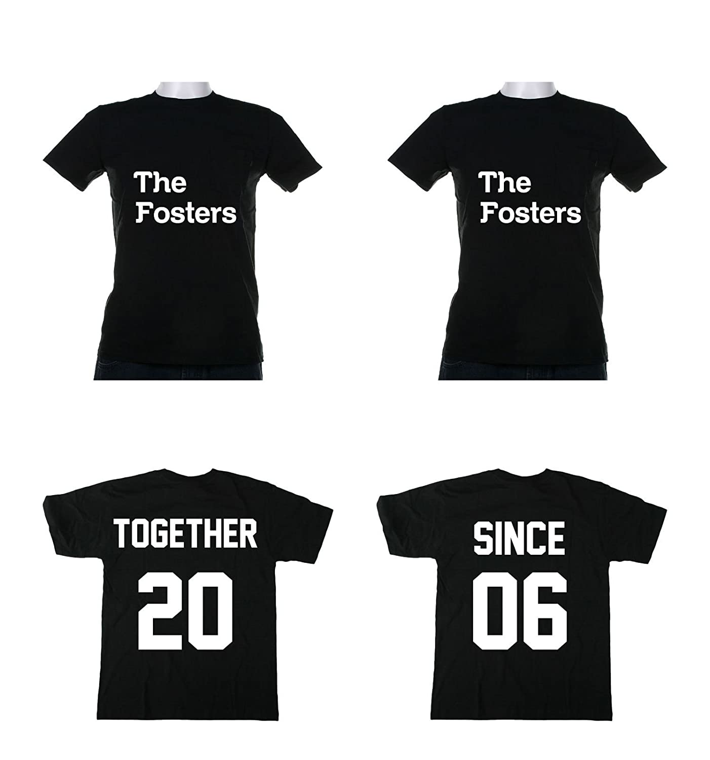Design t shirt for couple - Amazon Com Together Since Couples T Shirts Love Marriage Anniversary Sports Outdoors