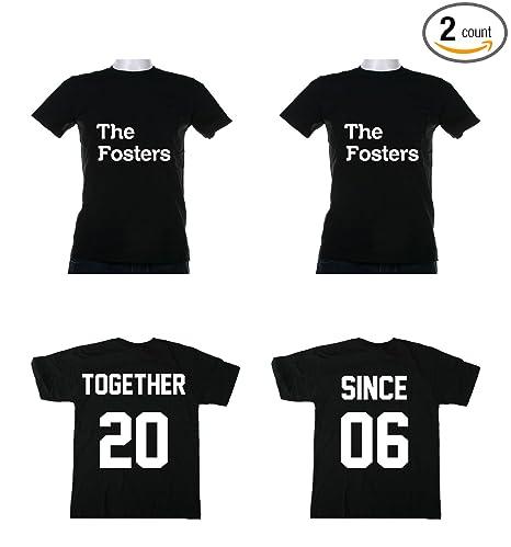 3b2ce1e9eb Amazon.com: Gildan Together Since Couples T- Shirts Love Marriage  Anniversary: Sports & Outdoors