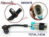 HW 4pcs One Set ABS Wheel Speed Sensor Fits Pontiac Chevrolet Equinox Captiva Saturn Opel 2007-2013 96626078, 96626080