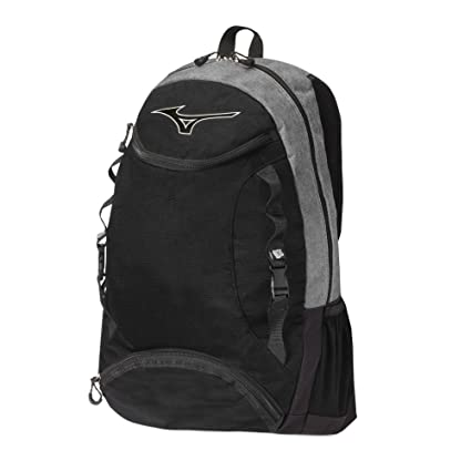 d0c2227d96 Amazon.com: Mizuno Lightning Volleyball Backpack, Grey/Black: Sports ...