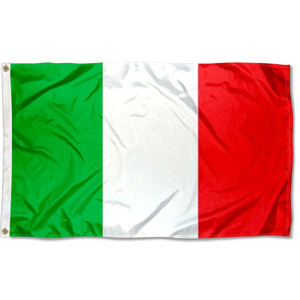 Two Group Italy Flag