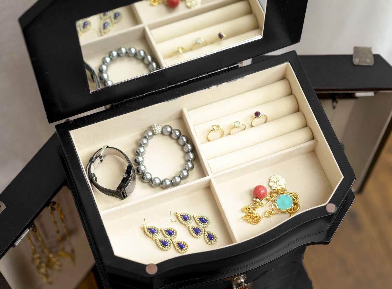 Hives & Honey Meg Jewelry Armoire (.1 Pack White)