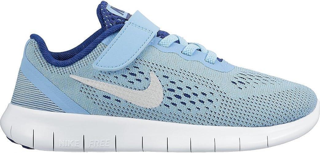 nike free rn psv Nike Girls' Free RN (PSV) Running Shoes, Blue (Bluecap/Metallic ...