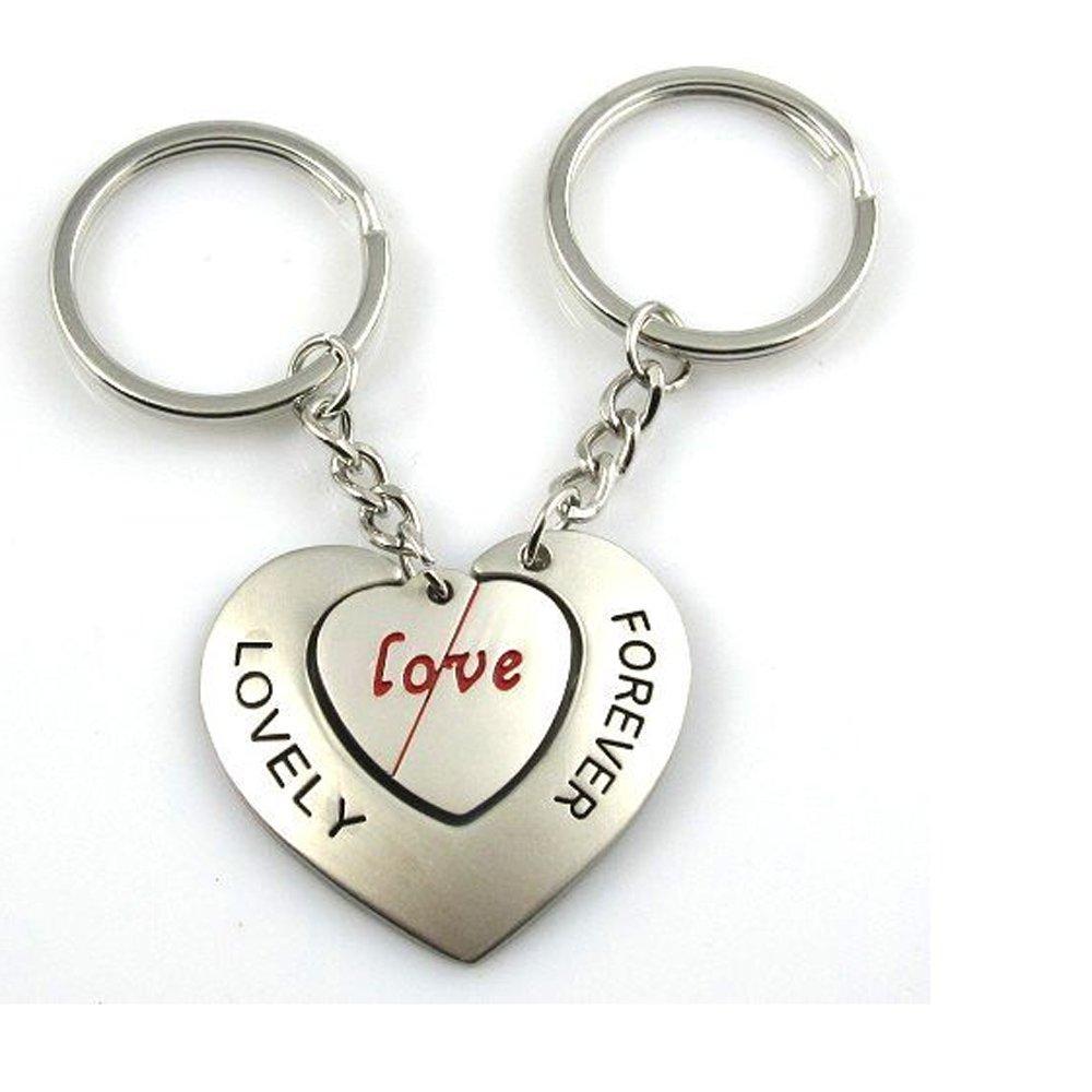 ACEE DEAL Couple Keychain Love Keychain Key Ring