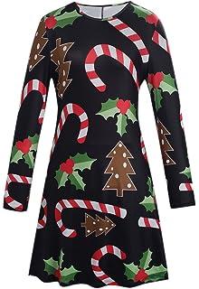 7084ed79 Amazon.com: AmyDong Women Tops, Womens Christmas Printed Hoodies ...