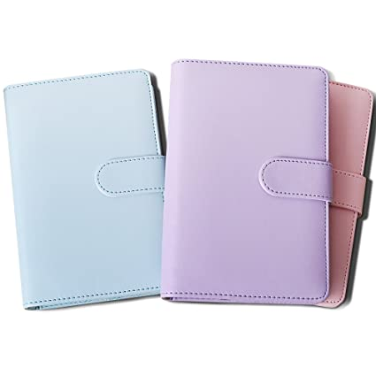 Zhi Jin A6 Cubierta de piel para cuaderno rellenable ...