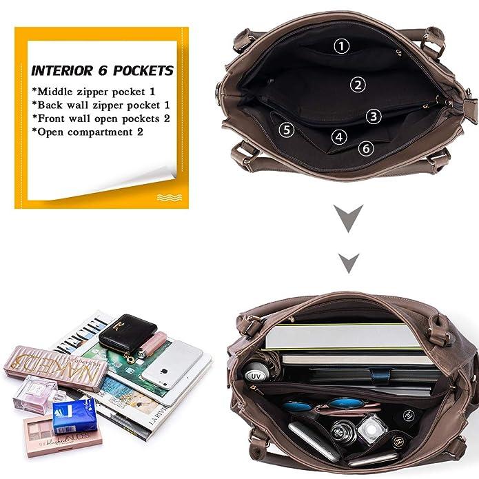 Amazon.com: Bolsos de mano para mujer de hombro con ...