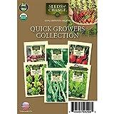 Seeds of Change 60-08208 Quick Growers Garden Seeds