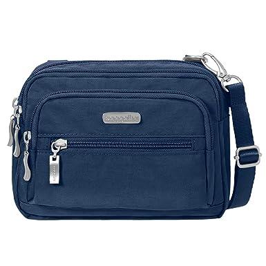Baggallini Triple Zip. Crossbody Organizer Bag  Handbags  Amazon.com