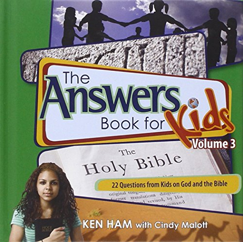 Answers Book for Kids Volume 3 [Ken Ham - Cindy Malott] (Tapa Dura)