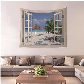 Neues Design Fake Fenster HOME Dekorative Wandbehang Tapisserie Für  Schlafzimmer Wohnzimmer Wohnheim, Muster 05,