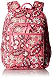 Women's Campus Tech Backpack, Signature Cotton, Blush Pink