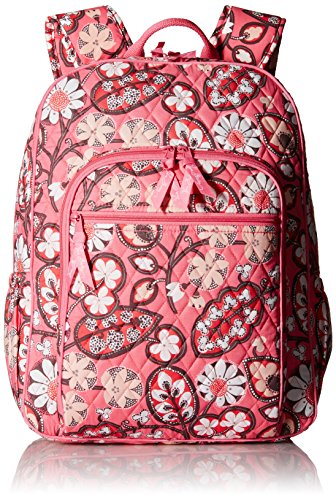(Women's Campus Tech Backpack, Signature Cotton, Blush Pink)