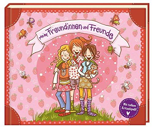 Meine Freundinnen und Freunde (Mit tollem Kritzelspaß!) (Eintragbücher) Gebundenes Buch – 1. Juli 2012 Nina Dulleck Coppenrath B0081TMXD4 Album