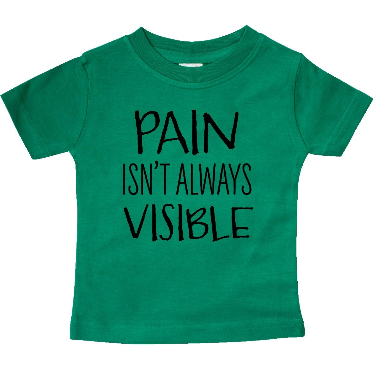 inktastic Pain Isnt Always Visible Chronic Pain Awareness Baby T-Shirt